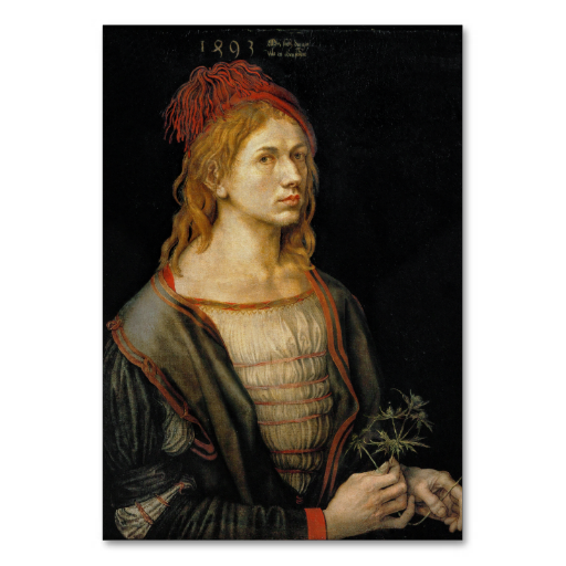 Self #Portrait by Albrecht #Durer #Table #Card #tablecard