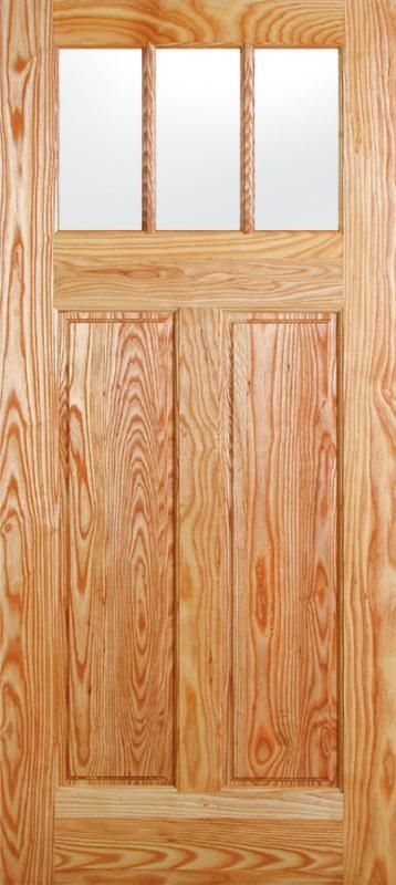 Front Door 4632 (IG).Upgrade Option Rogue Valley 3 lite & Front Door 4632 (IG).Upgrade Option: Rogue Valley 3 lite 2 panel ...
