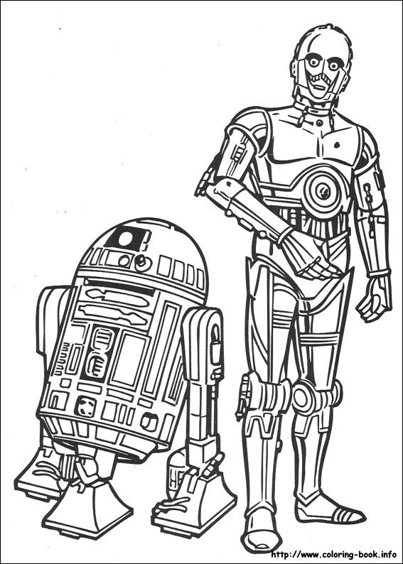 Star Wars coloring picture | Coloring | Pinterest | Star, Craft and ...