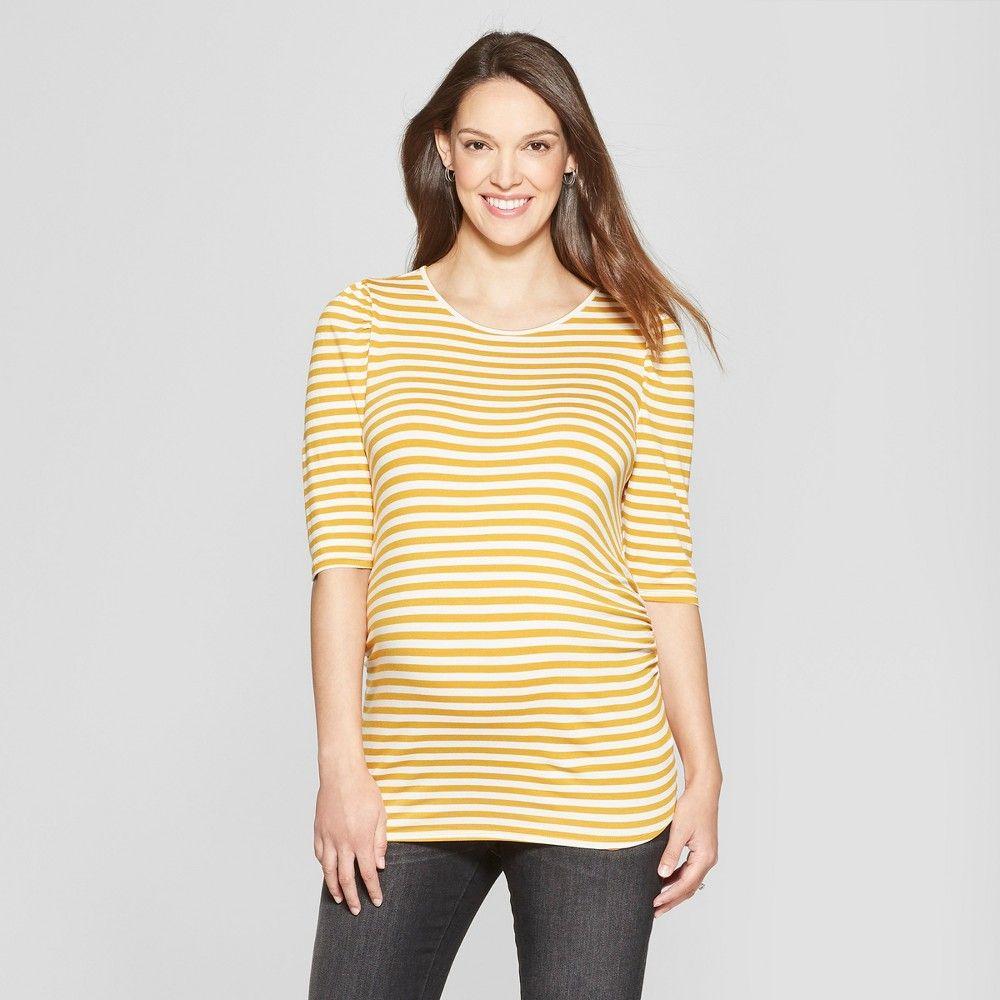 TARGET Ingrid /& Isabel Maternity Tie Sleeve Knit Top Tshirt Blouse PURPLE NEW!