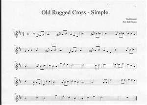 old rugged cross sheet music - Bing Images
