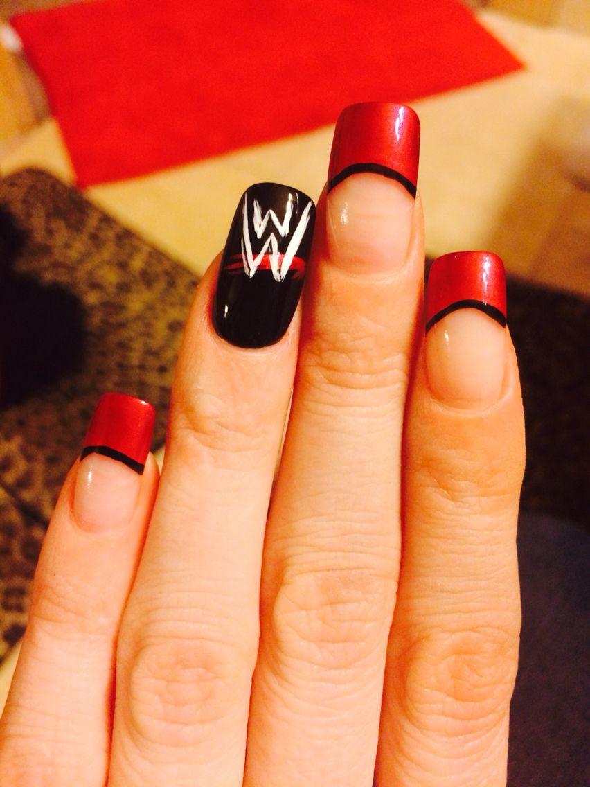 WWE nails | Nails | Nails, Nail designs, Gorgeous nails