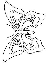 Butterfly Pattern Im Thinking About Using This As A Layered Royal Icing