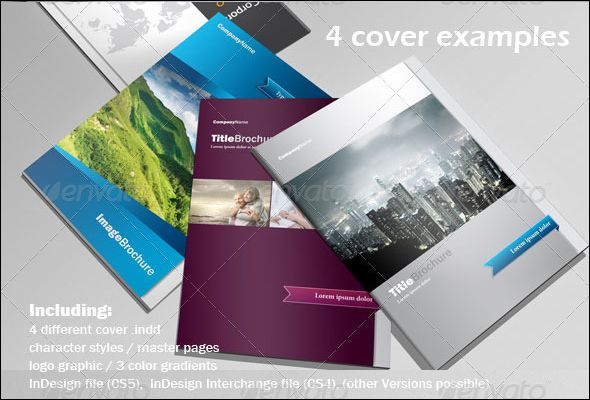 100 free editable corporate brochure psd templates group board