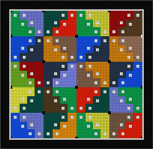 Wayward Winds Pattern: Wayward Winds Needlepoint Pattern - great for using up some of my scrap threads