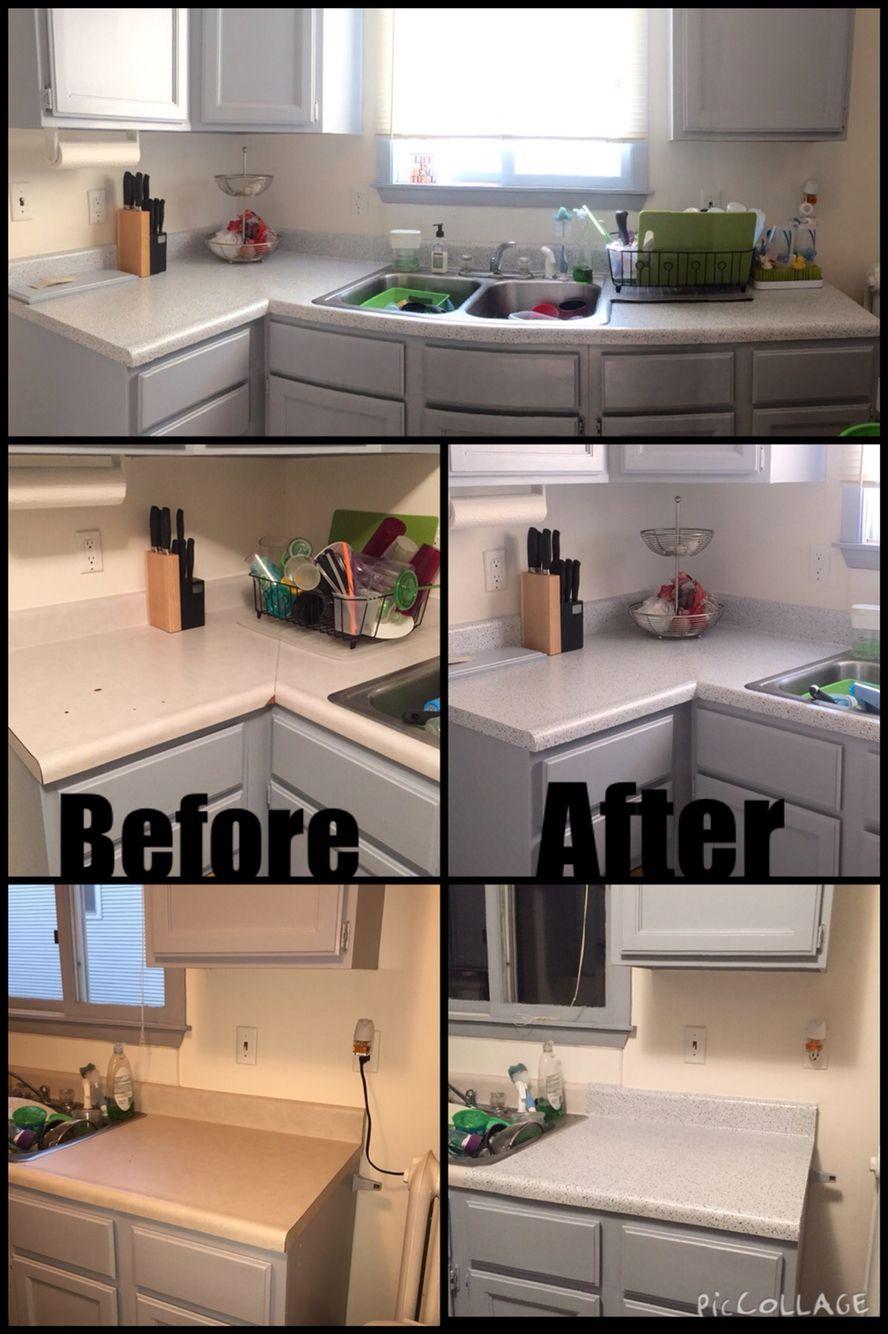 Con Tact Creative Covering Beige Granite Adhesive Shelf Liner 20f