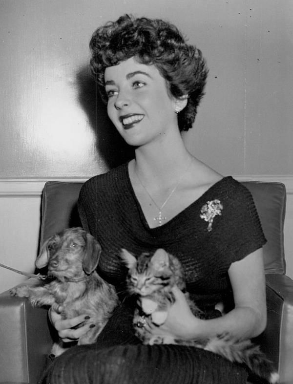 Elizabeth TaylorHer love of animals made her so cool classy and compassionate and she still looked like a STAR RIP Lady Liz!