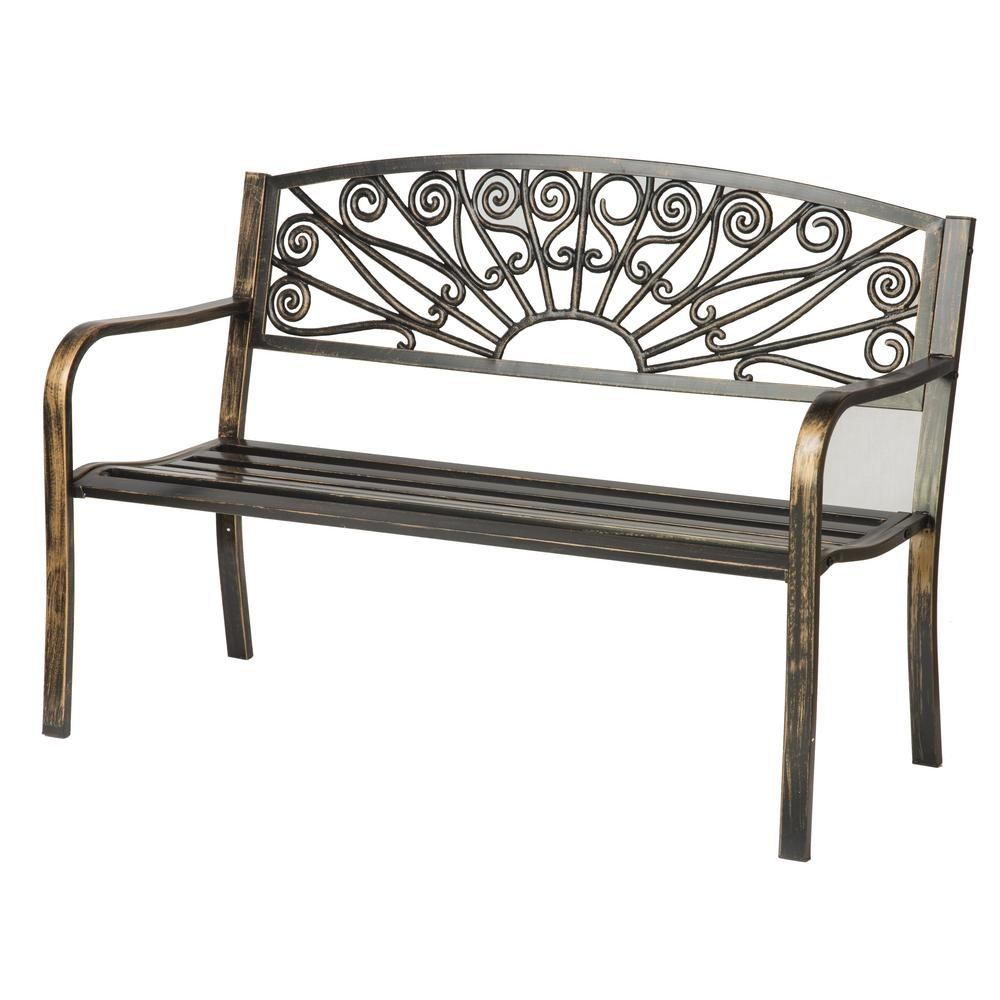 Phenomenal Trademark Innovations 50 In Bronze Starburst Design Steel Bralicious Painted Fabric Chair Ideas Braliciousco