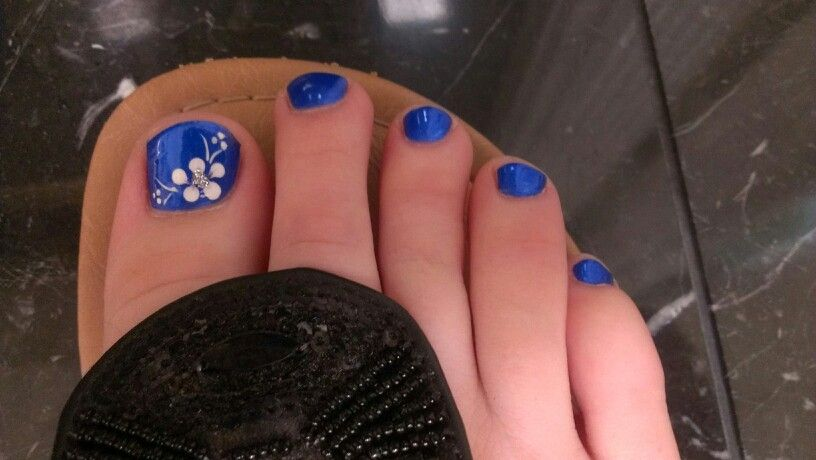 Royal Blue Toe Nail Designs Valoblogicom