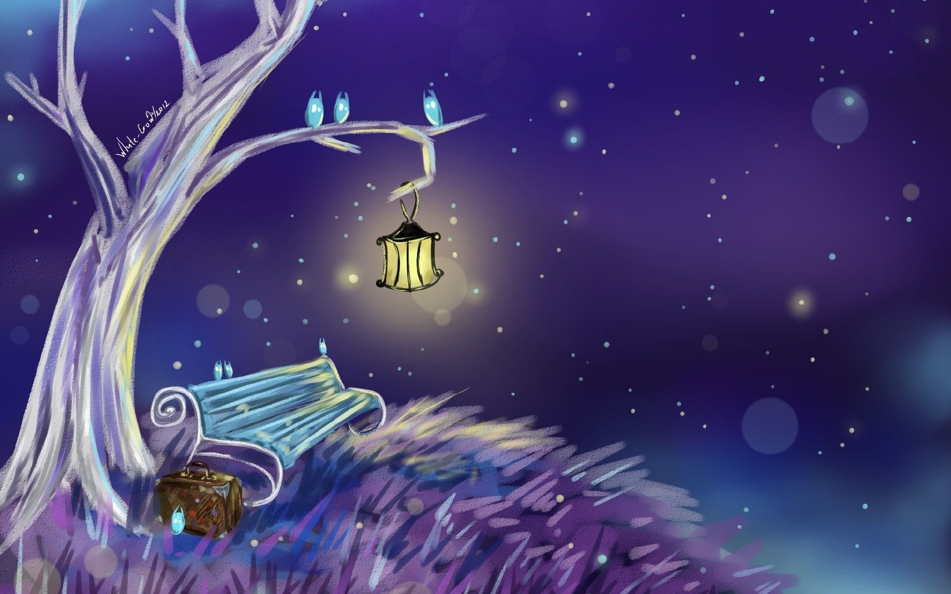 Magical World Fantasy Art Painting Wallpaper Hd For Desktop