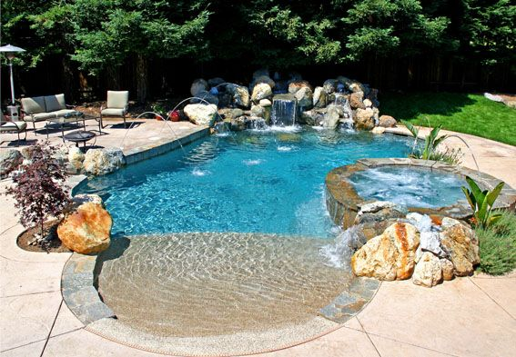 Freeform Swimming Pool Designs Swimming Pool Builder Premier Pools And Spas Pool Ideas