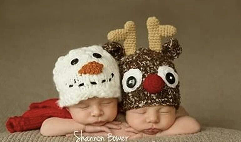 Sweet hats for baby
