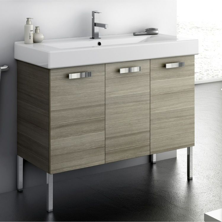 Bathroom Vanity, ACF C16, 40 Inch Vanity Cabinet With ...