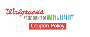 Walgreens Updated Coupon Policy
