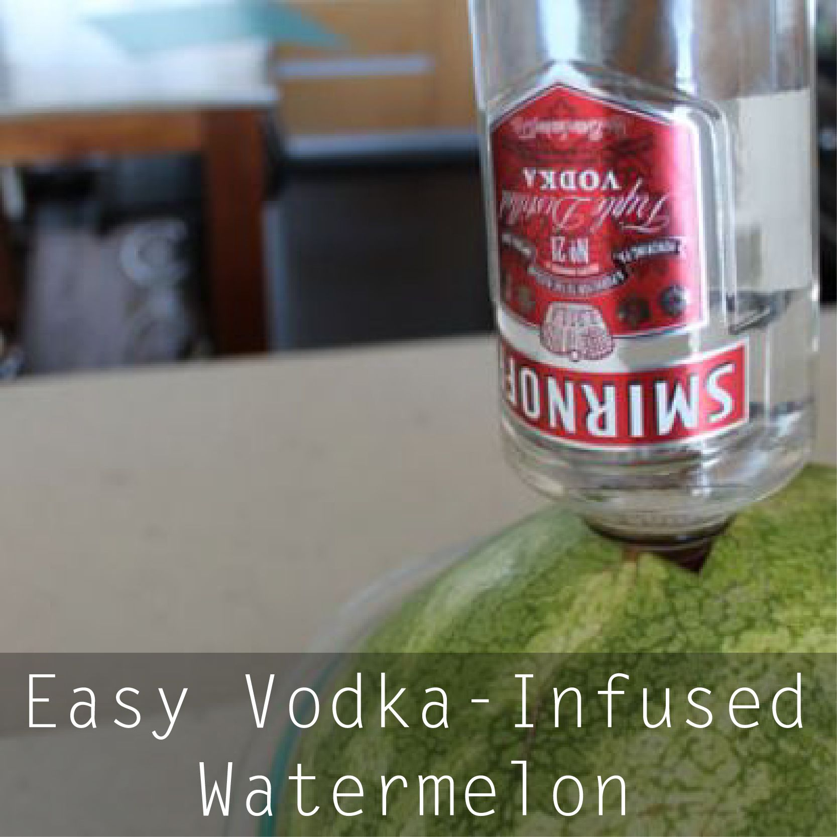 Easy Vodka-Infused Watermelon