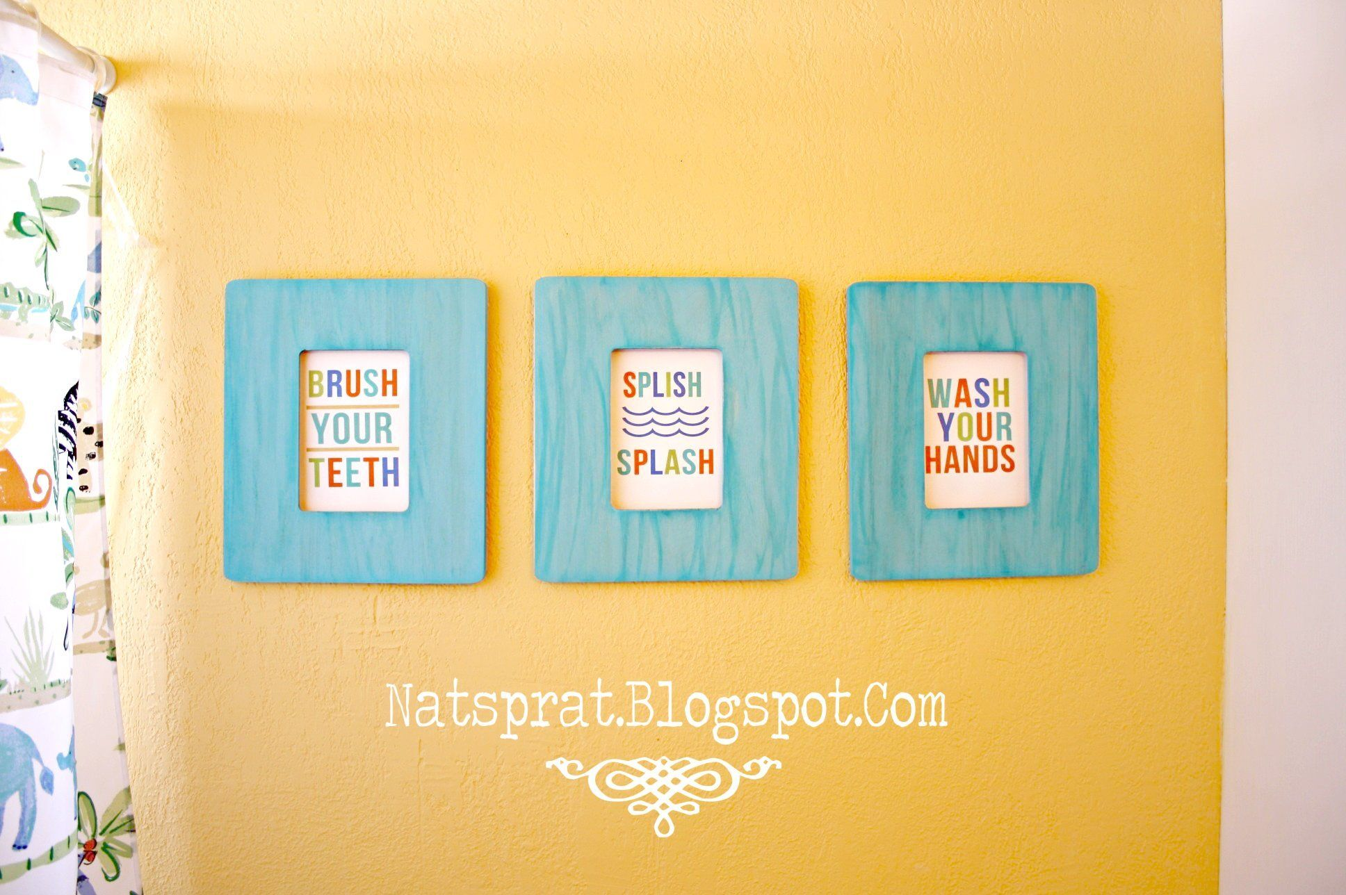 bathroom signs free printables i got cute white frames to put rh pinterest com