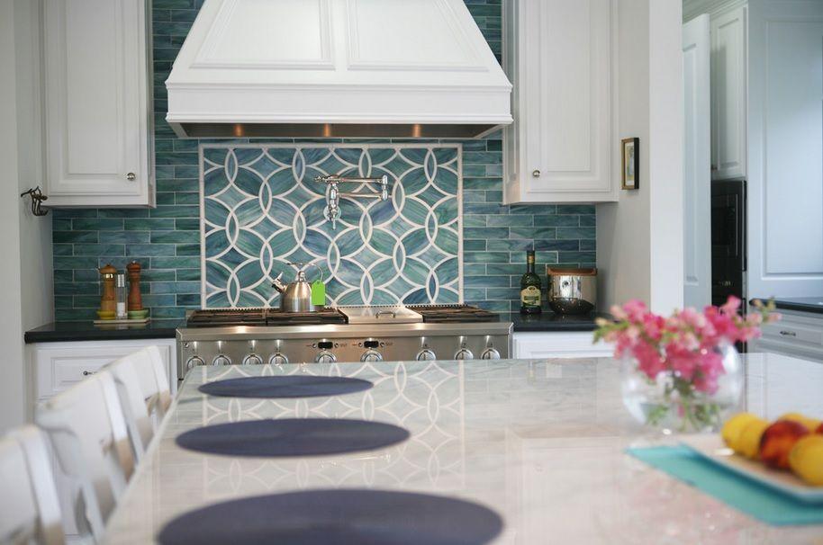 Ann Sacks Glass Tile Backsplash