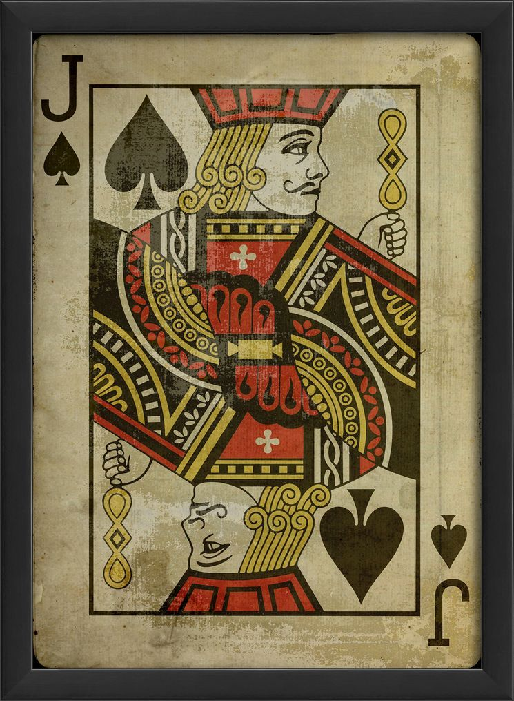 Jack Of Spades Framed Graphic Art Jack Of Spades Art