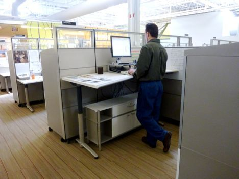 The Standing Desk Why Hasn T It Caught On Cubicle