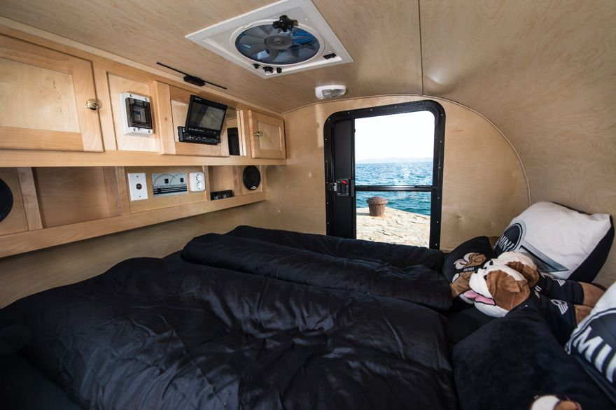 The Interior Of That Little Mini Camper Trailer Trendlet Clever