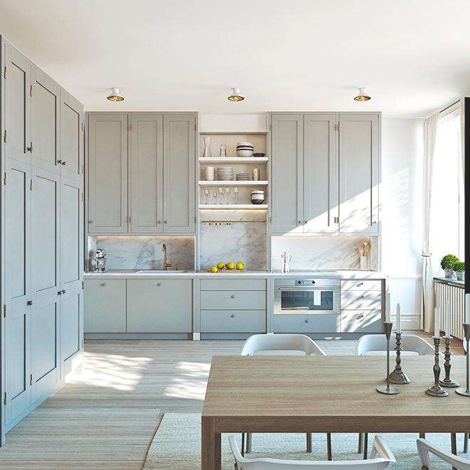 Una cocina de ensue o kitchen pinterest - Cocinas de ensueno ...