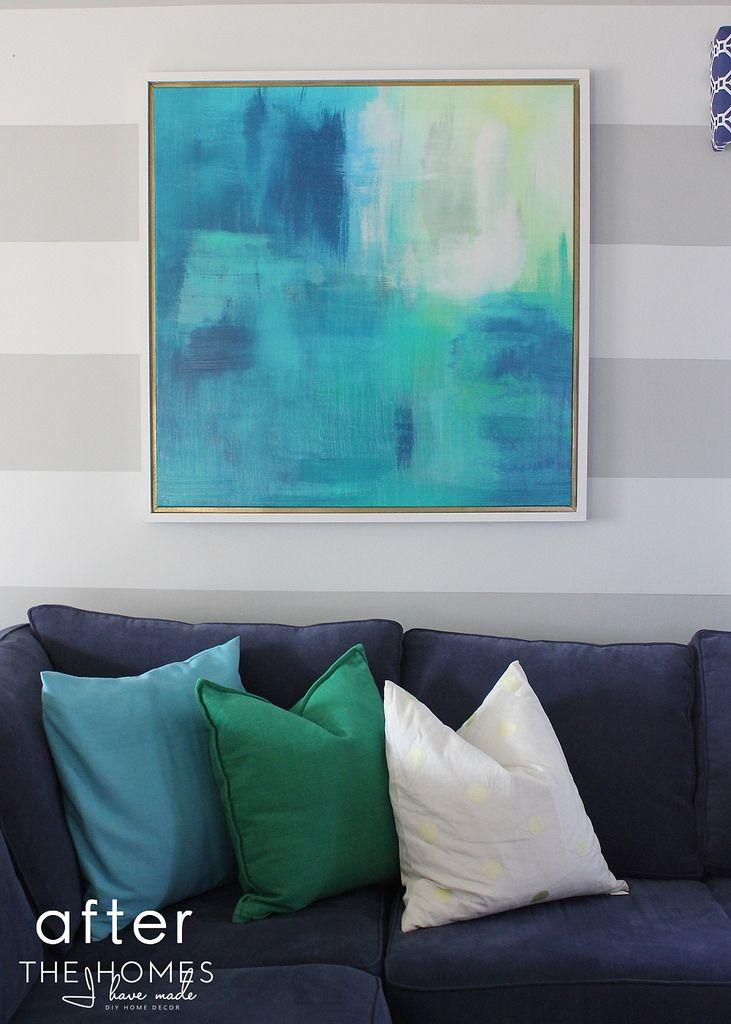 DIY Canvas Frame | Marcos para cuadros, Marcos de cuadros y Marcos