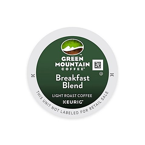 K-Cup 48-Count Green Mountain Coffee Breakfast Blend Value Pack for Keurig Brewers - bedbathandbeyond.com