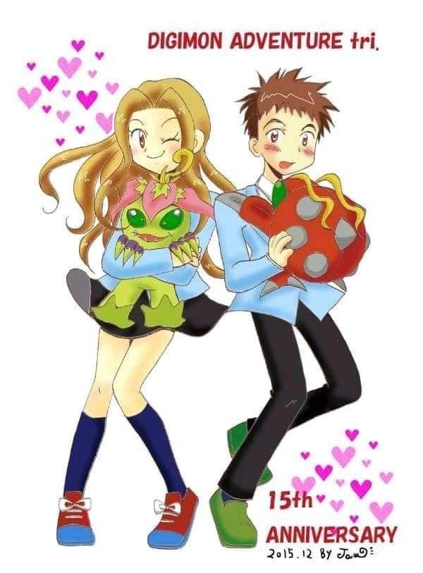 Pin på Izzy & Mimi (Digimon)