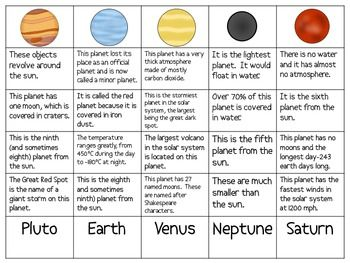 the planets in our solar system sort packet 4th grade solar system solar system worksheets. Black Bedroom Furniture Sets. Home Design Ideas