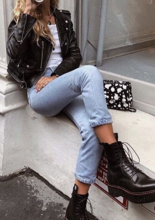 pinterest @kyliieee | city street style outfit ideas for women | levis 501 skinny jeans outfit girls