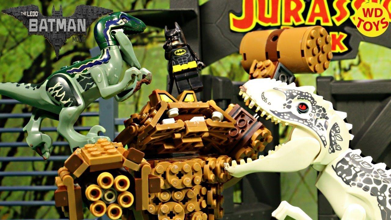 Batman Lego Clayface Splat Attack Vs Indominus Rex