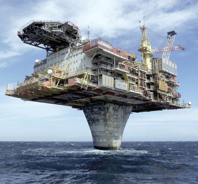 Sweden's Draugen Oil Platform | I Like To Waste My Time | Architecture