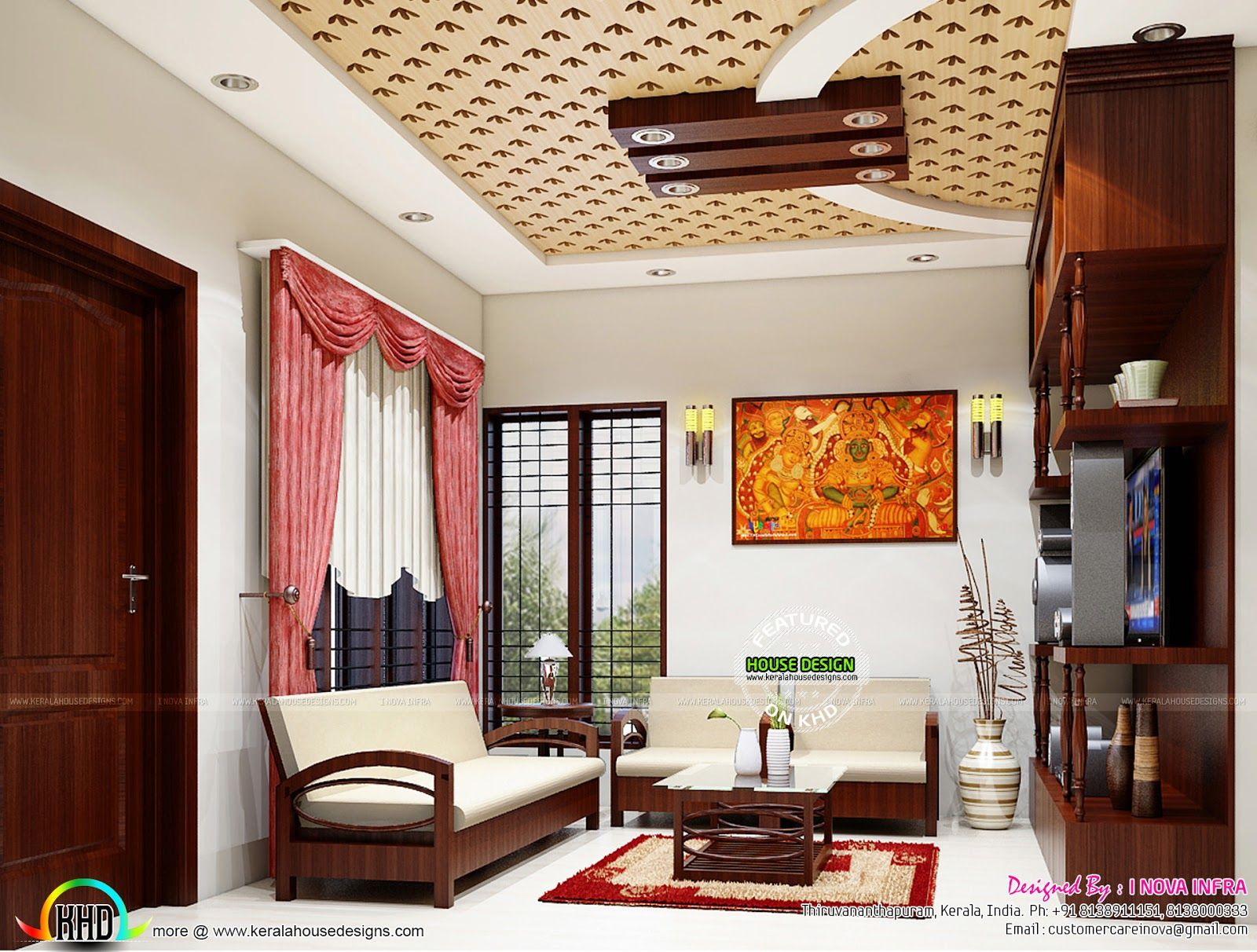 kerala traditional home interior designs in 2019 ...