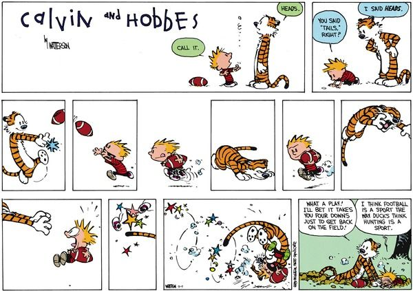 Calvin And Hobbes By Bill Watterson For September 07, 2014