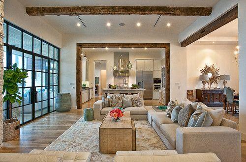 Cat Mountain Residence modern living room