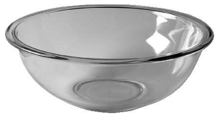 Corning Ware Pyrex Originals Clear Mixing Bowl 11 Dia 4 Liter 326 ...