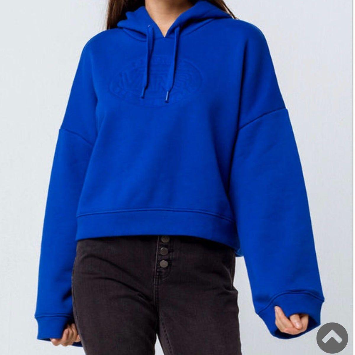 Nwt Vans Hoodie Royal Blue Bell Sleeve Royal Blue Sweater Royal Blue Jacket Hoodies Womens [ 1200 x 1200 Pixel ]