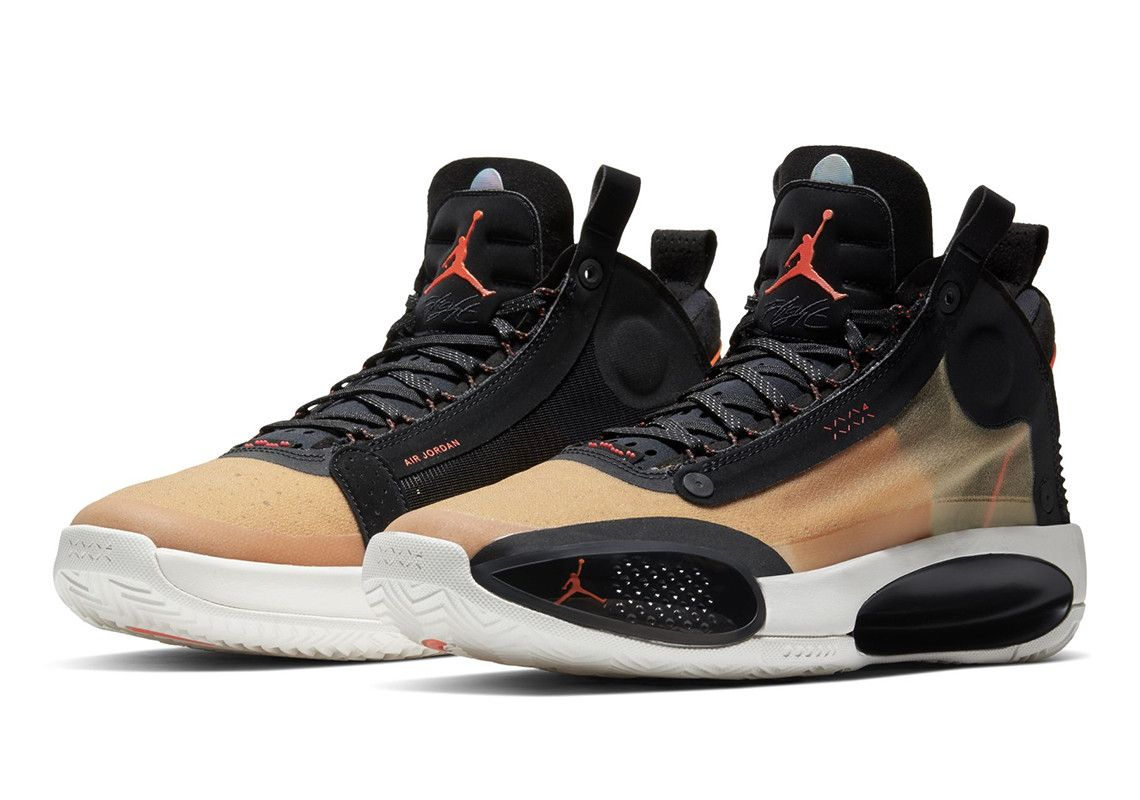 The Air Jordan 34 Amber Rise Releases On Thanksgiving Day Air Jordans Jordans Workout Shoes