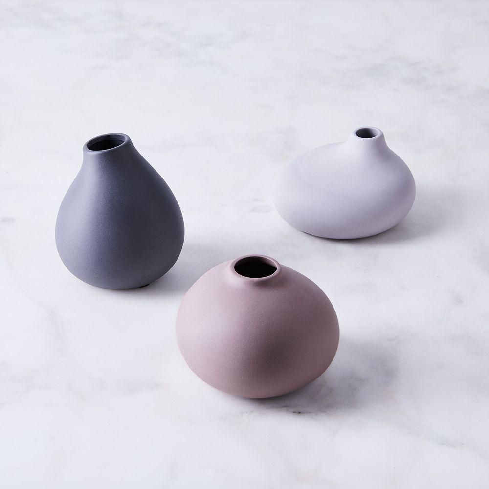 Mini Porcelain Vase Trio on Food52