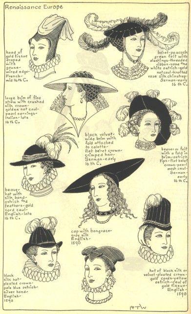 Renaissance hats  538ec051754