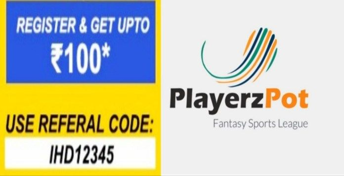PlayerzPot Referral Code IHD12345 (With images