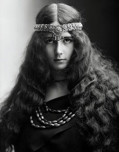 My Bohemian History  Dancer Cléo de Mérode, circa 1870-80