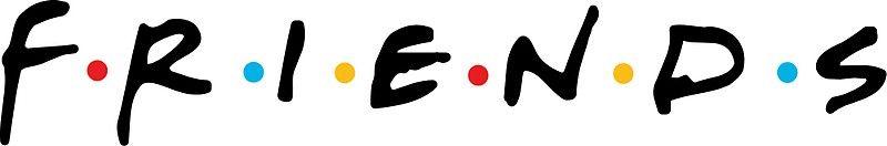 Friends (With images) | Friend logo, Friends font, Logos