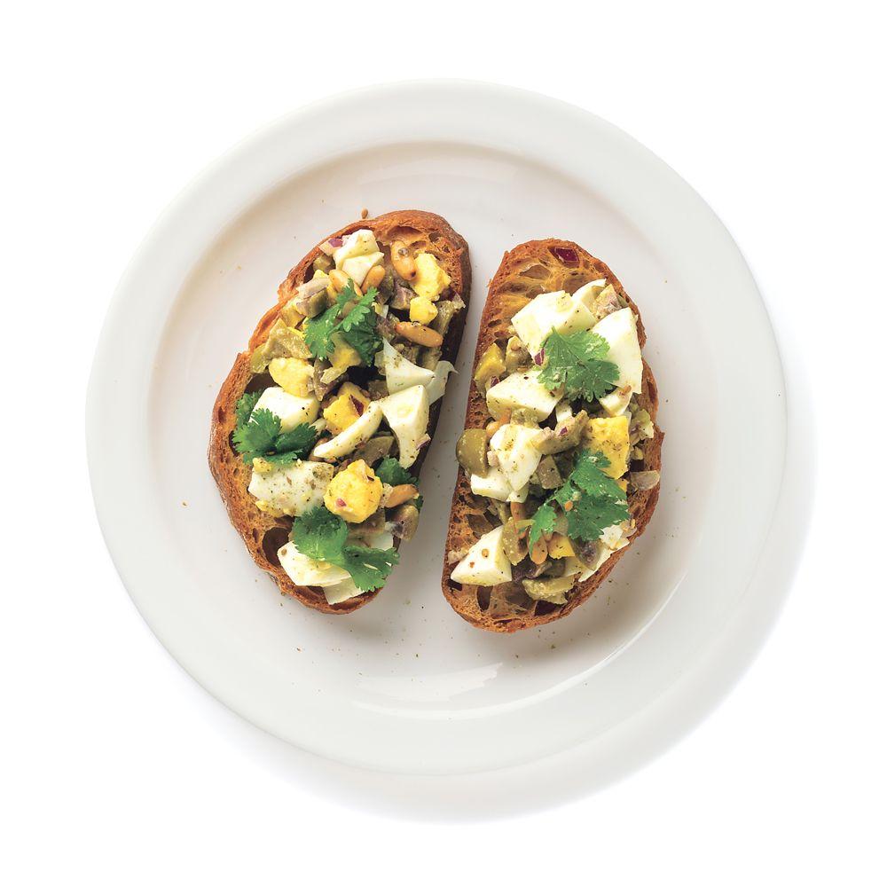 Mediterranean Egg Salad Recipe Recipe Leftovers Recipes Recipes Egg Salad Recipe