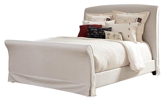 Burkesville Upholstered Sleigh Bed Ashley HEDA Pinterest