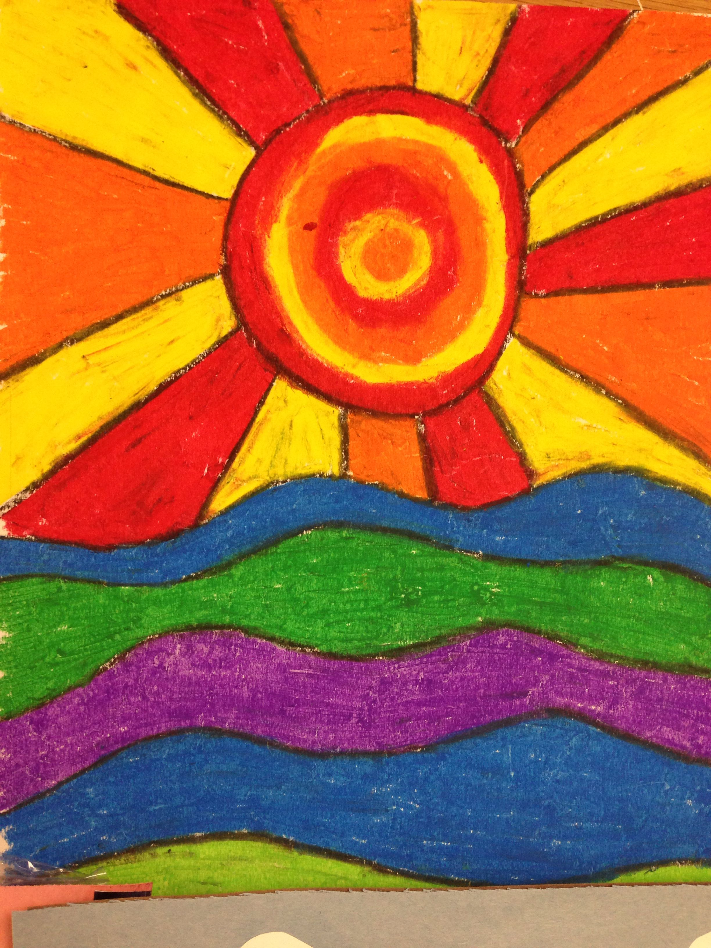 Pin By Karla Alvarez On Art Lessons Colorful Art Projects Color Art Lessons Elementary Art Projects