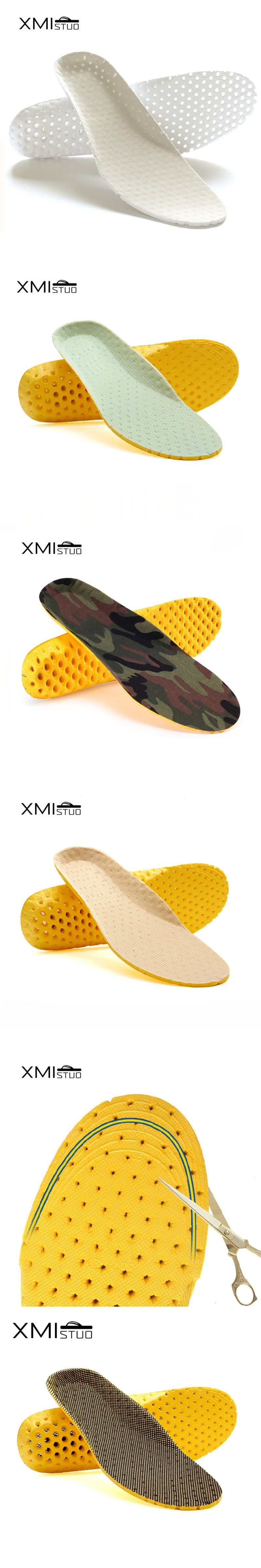 a2c099635b XMISTUO Orthotic Arch Support Shoe Pad Soccer Sport Running Active carbon  military training Basketball Insoles Insert