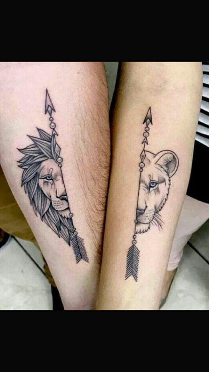 me and brandon matching tattoo