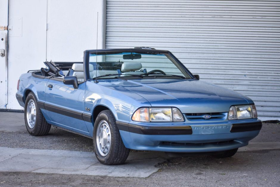 For Sale 1990 Ford Mustang LX 5.0 Convertible (5speed