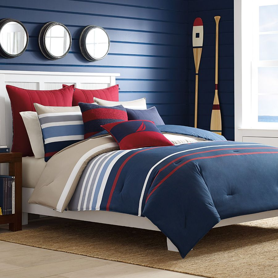 Nautica Bradford Comforter Duvet Set From Beddingstyle Com Comforter Sets Nautical Bedding Sets Duvet Comforter Sets